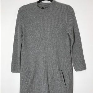 Peck & Peck cashmere grey long sweater small